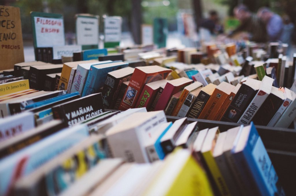 you can thrift books on sustainability instead of buying them anew!